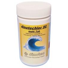 Медленнорастворимый препарат для длительного хлорирования Dinotechlor 90 TAB 200 DINOTEC 1 кг