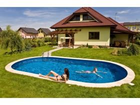 Збірні стаціонарні басейни Ibiza