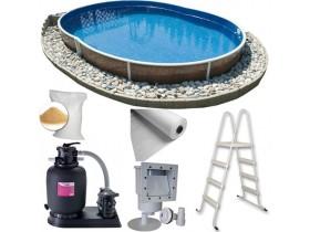 Комплекти збірних басейнів (основне обладнання для функціонування басейну)