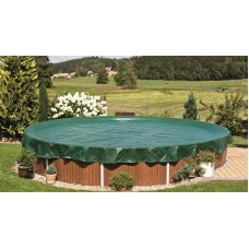Защитное накрытие для сборного бассейна размером 4м