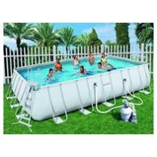 Прямоугольный каркасный бассейн BestWay 56257