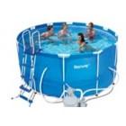 Круглый каркасный бассейн BestWay 56259