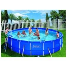 Круглый каркасный бассейн BestWay 56113
