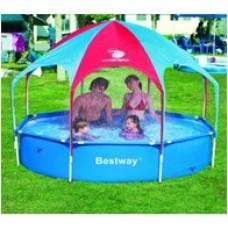 Детский каркасный бассейн с тентом BestWay 56193