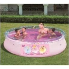 Детский надувной бассейн с аппликацией Принцесса 91052