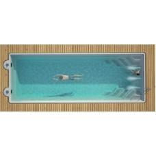 Композитный керамический бассейн 1000х370х150см