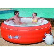 Аэромассажный надувной мини бассейн СПА  BestWay 54101