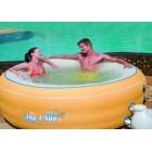 Аэромассажный надувной мини бассейн СПА  BestWay 54102
