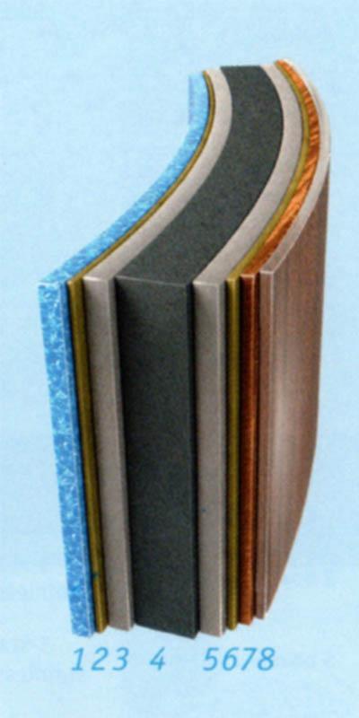 материал стенки бассейна азуро De Luxe