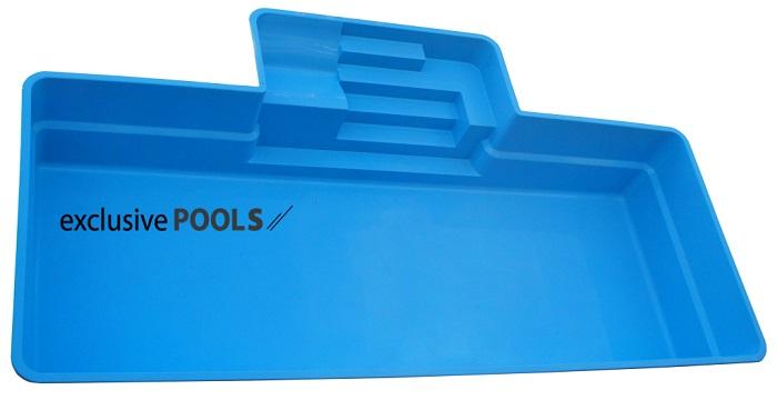 Купить пластиковый бассейн ExclusivePools Comfort Pool