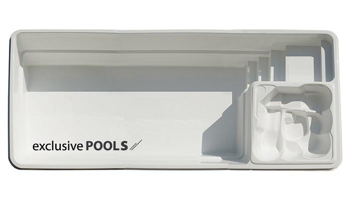 Купить пластиковый бассейн ExclusivePools Massive Pool