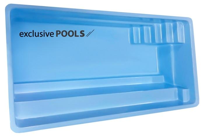Купить пластиковый бассейн ExclusivePools Smart Pool
