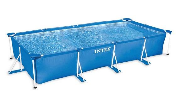 Каркасний басейн для дачі