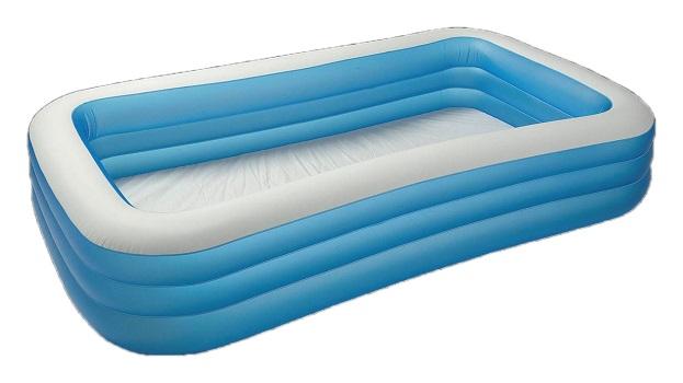 Надувний басейн для дачі