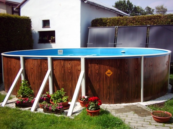 Наземна установка басейну Азуро