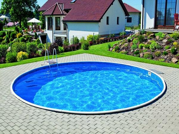 Полностью углубленный сборный бассейн Азуро