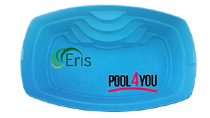 Купить стекловолоконный бассейн Pool4you Eris в Киеве и Украине