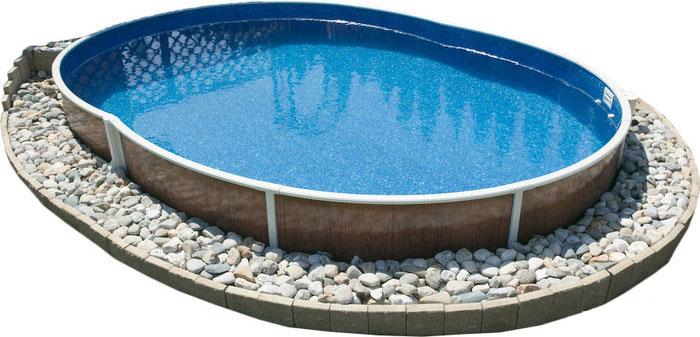 Сборный бассейн для дачи