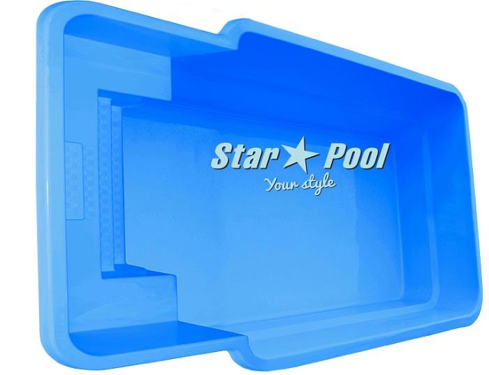 Купить пластиковый бассейн Starpool Atalia