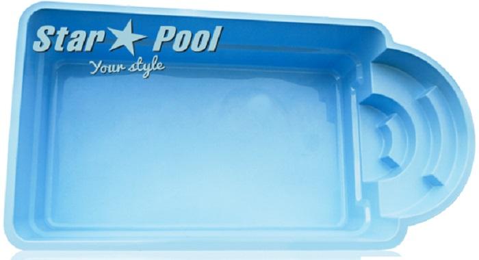 Купить пластиковый бассейн Starpool Della